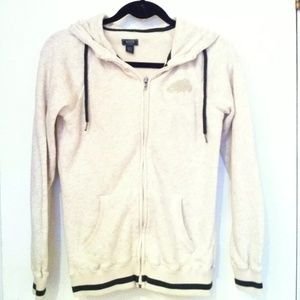 Roots Canada Cream Hoodie Size Xs